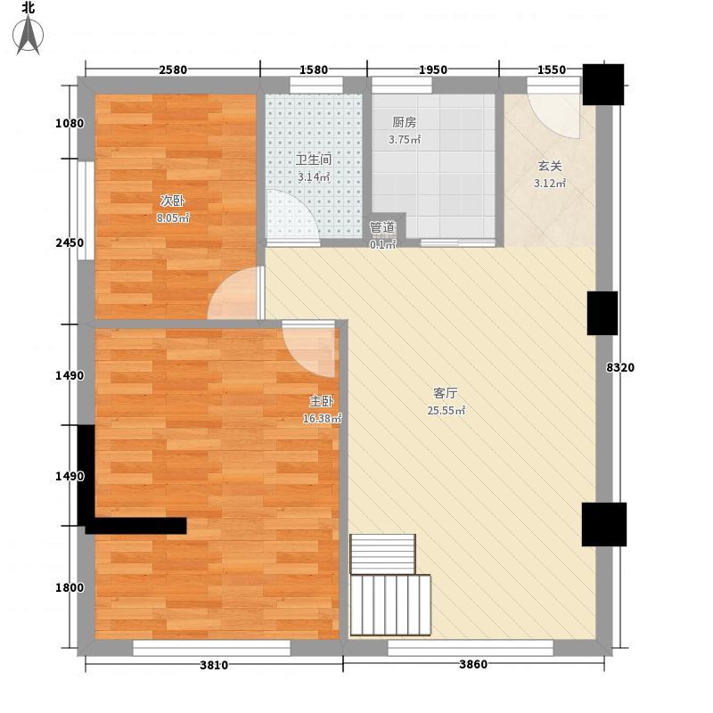 甲六院户型2室