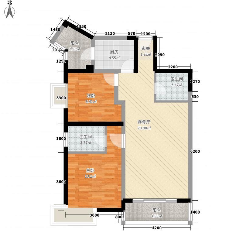 兰州市第一人民医院家属院户型2室