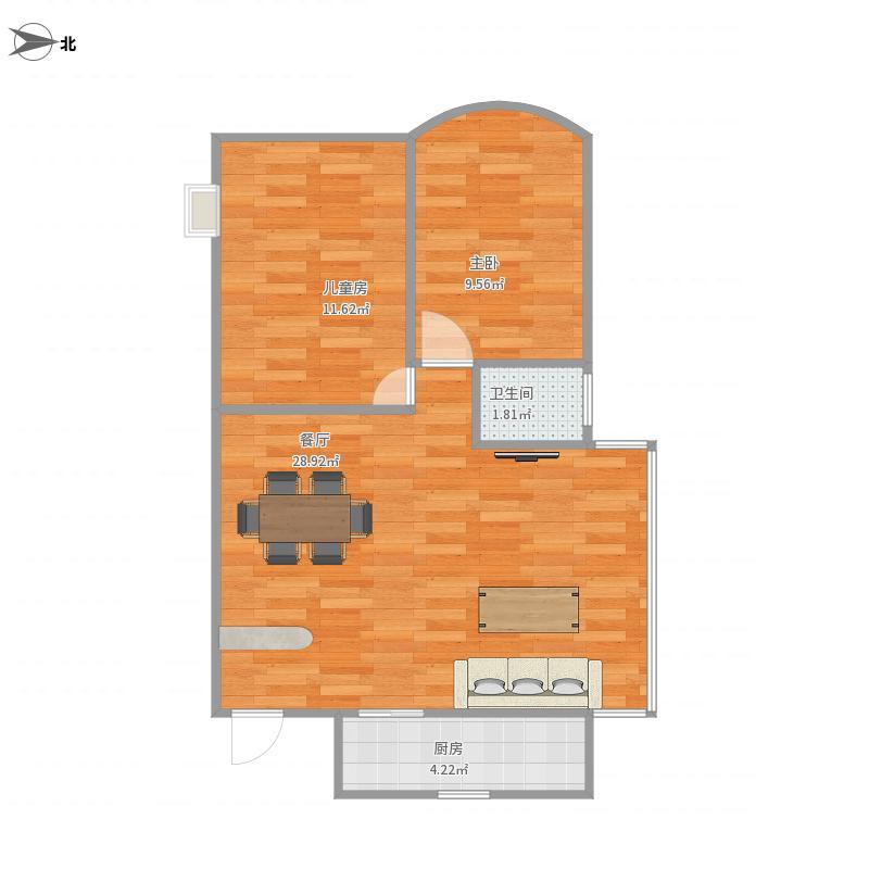 银海华庭两室两厅