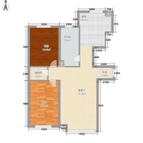 新华壹品2室1厅1卫0厨112.00㎡户型图