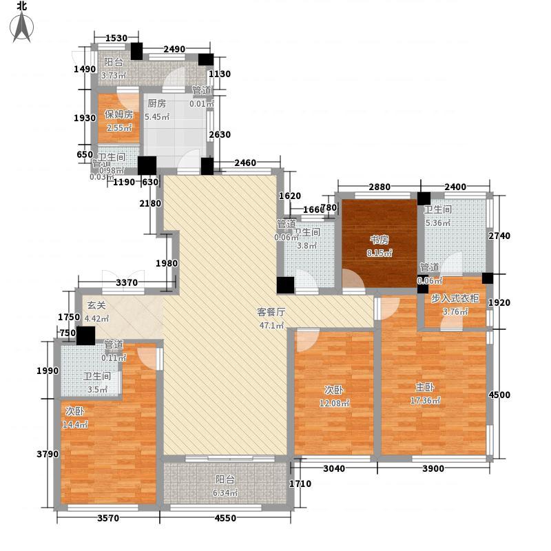 东方一品15.00㎡C户型5室2厅4卫1厨