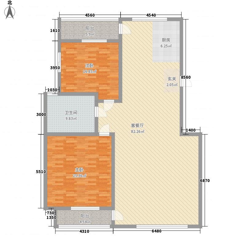 山海一家山海一家2室户型10室