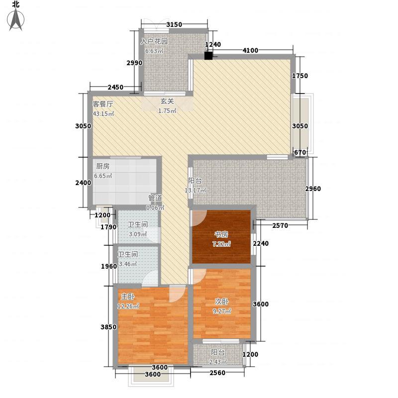 同安振兴小区户型2室1厅1卫1厨