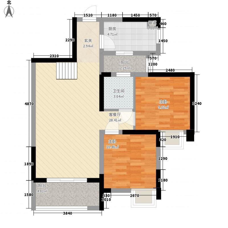 摩玛新城113.00㎡2号楼顶跃2-1(113㎡)户型3室2厅2卫1厨