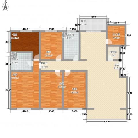 大唐龙庭(大唐智能花园三期)5室1厅2卫1厨221.00㎡户型图