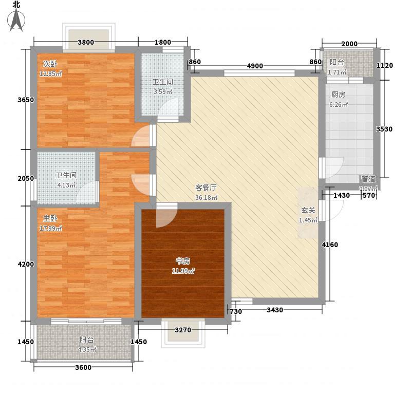 纺专家属院户型2室