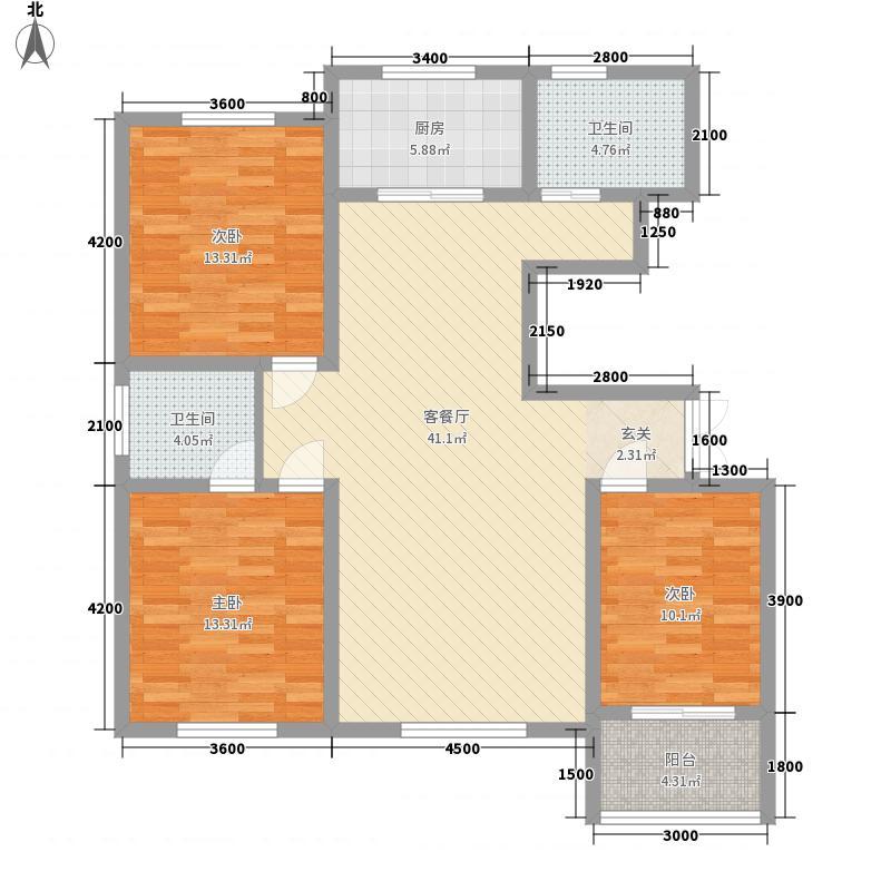 上城府第32-34#I户型