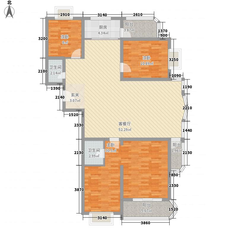 领秀e家173.00㎡领秀e家4室户型4室