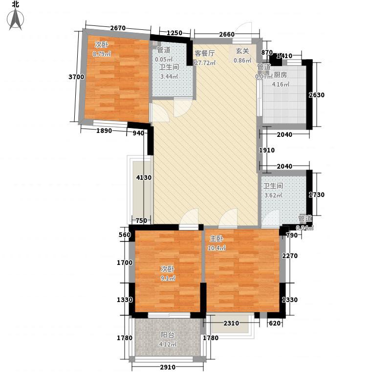 泰禾・红峪B1区101.00㎡泰禾红峪户型10室