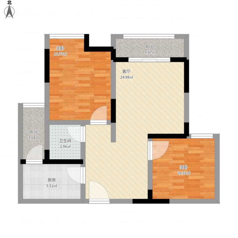重庆-和锦家园E户型