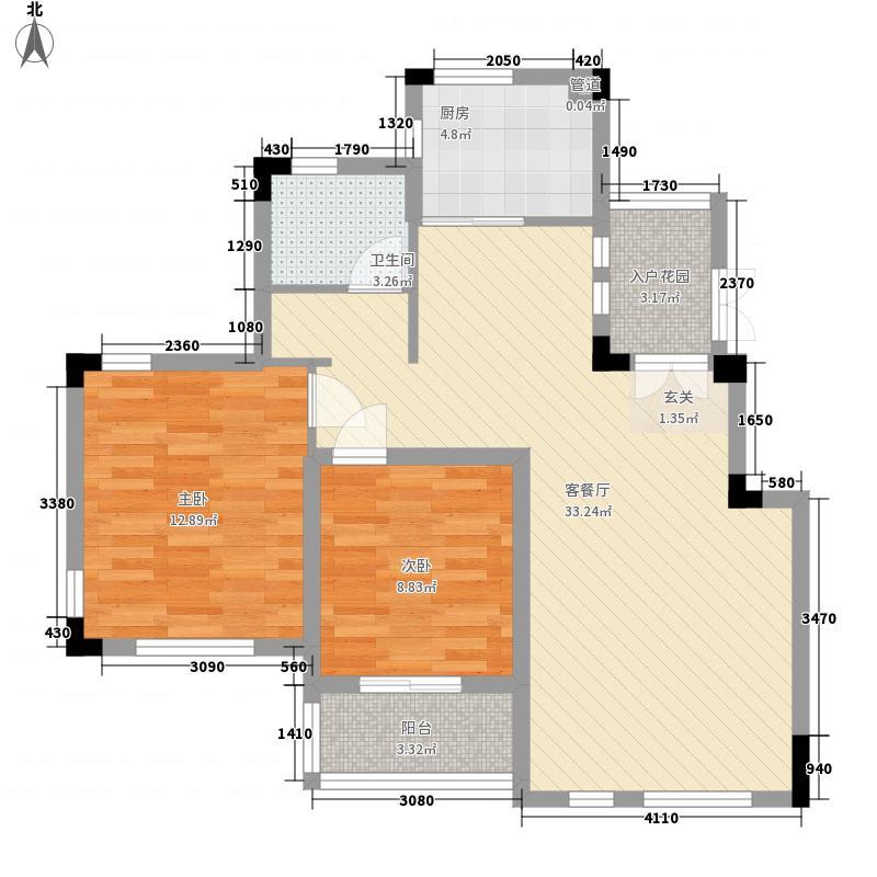 蓉湖山水B-A2户型10室