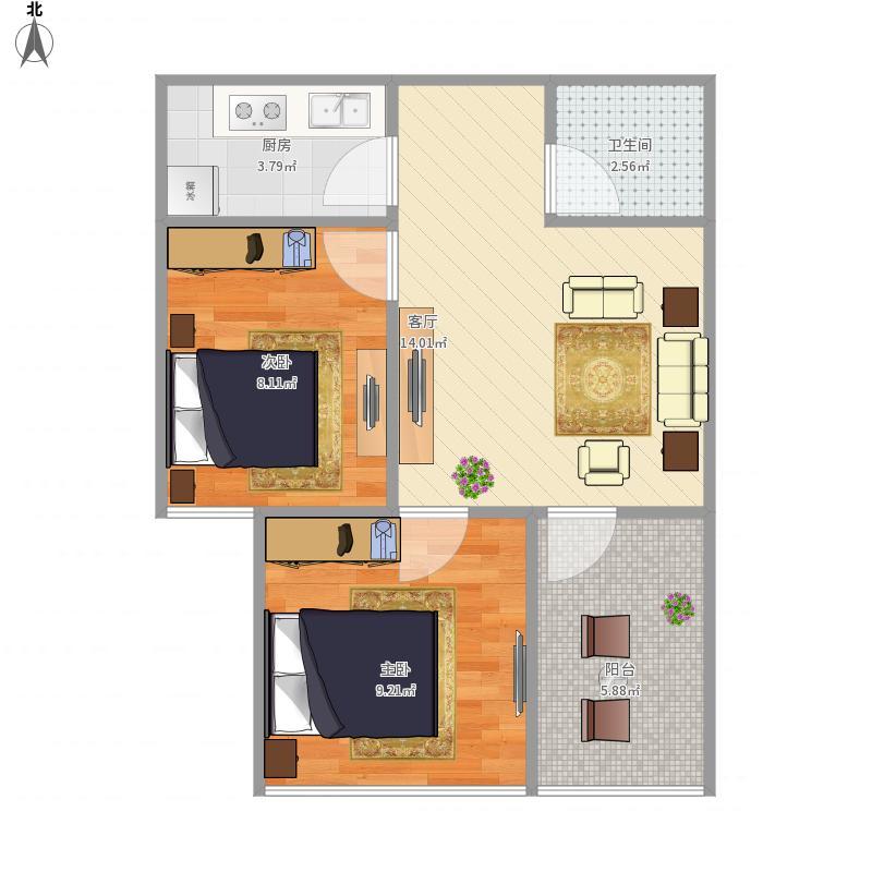 锦江明珠国际公寓B8