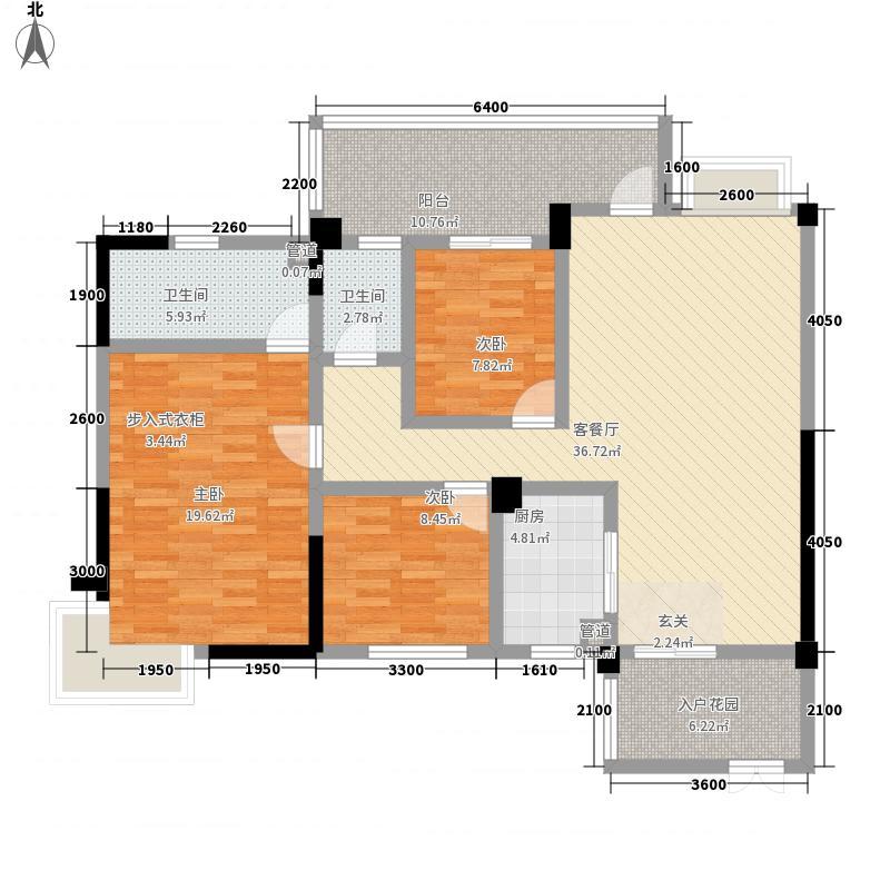 金江花园户型3室
