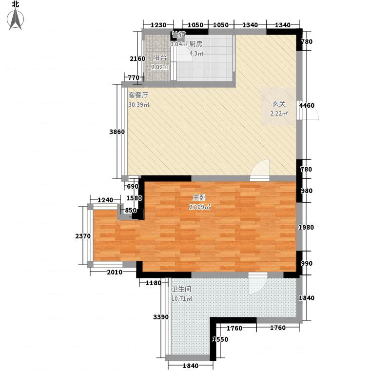 公交三公司家属院84.00㎡户型2室
