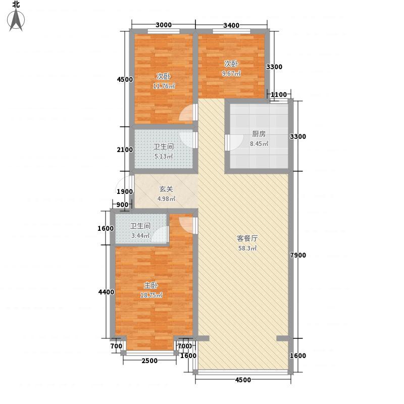 富丽小区6户型3室