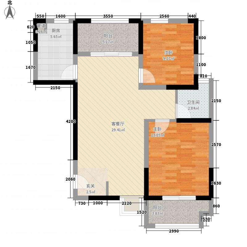 龙王4.00㎡小区户型3室