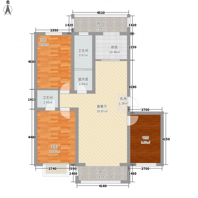 联建小区3户型3室