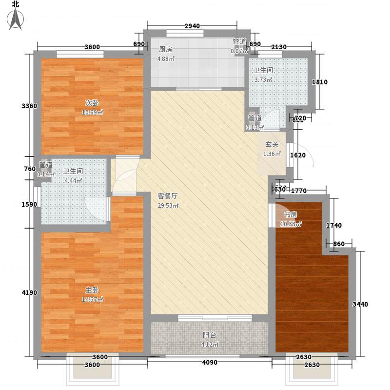 水产宿舍3-2-2-1-1户型3室2厅2卫1厨