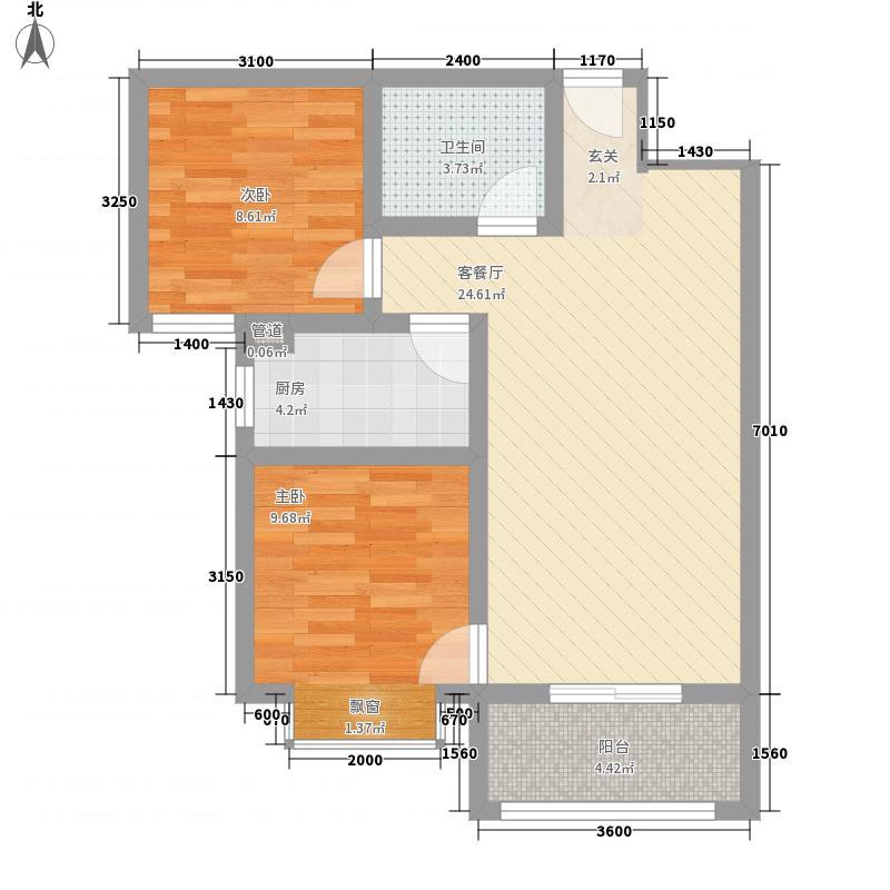 金林雅苑1B户型