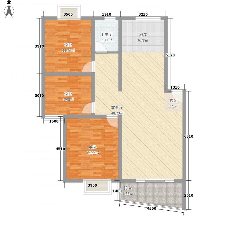 芷阳新苑户型3室