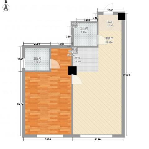 龙禧深蓝公寓