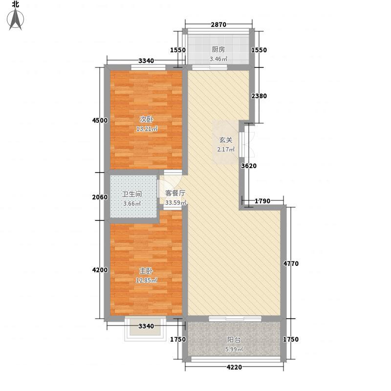 黄巷新村户型2室