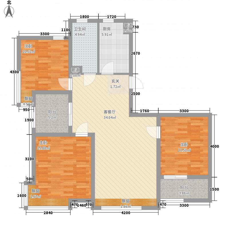永康食品厂宿舍户型3室