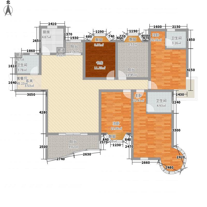东方名城温莎堡户型3室