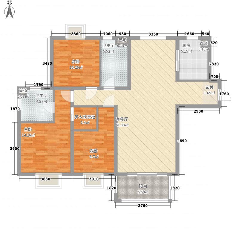 文昌家园户型3室