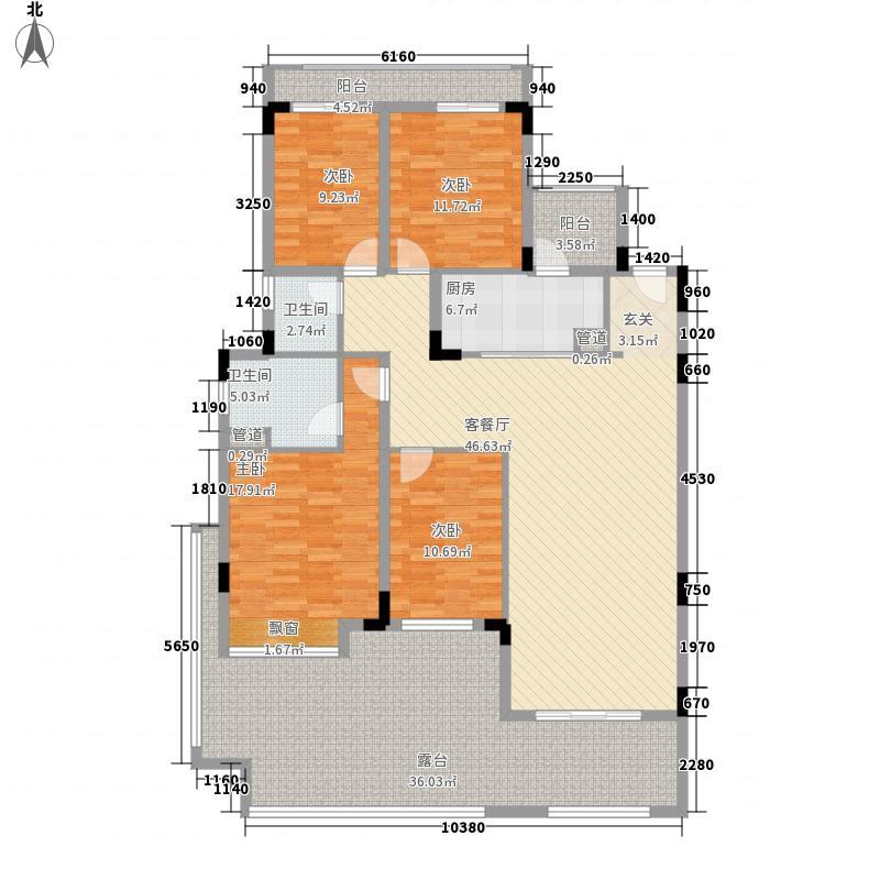 振业城二期振业城二期户型图2户型10室
