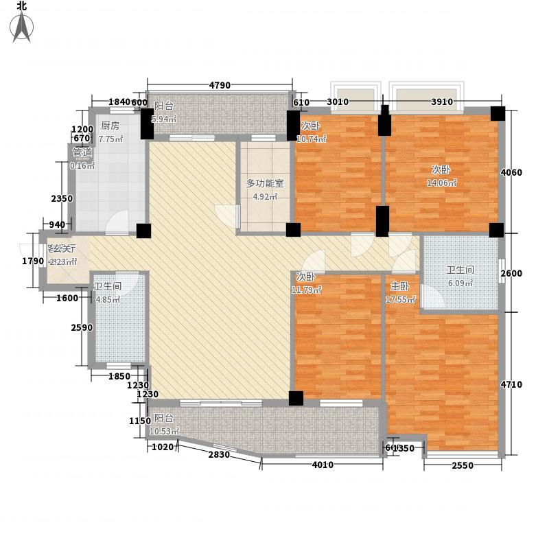 宝安中海公寓17.12㎡户型