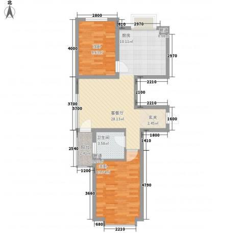 圣罗伦斯・巴比伦2室1厅1卫0厨184.00㎡户型图
