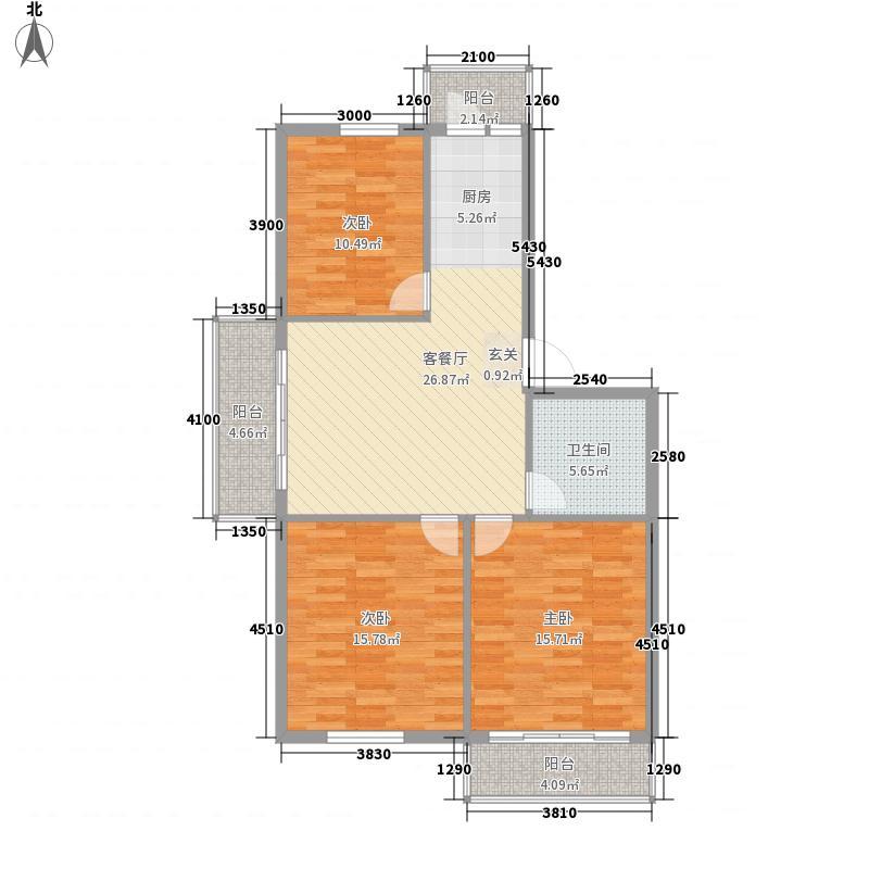 硅谷大厦硅谷大厦3室1厅1户型3室1厅
