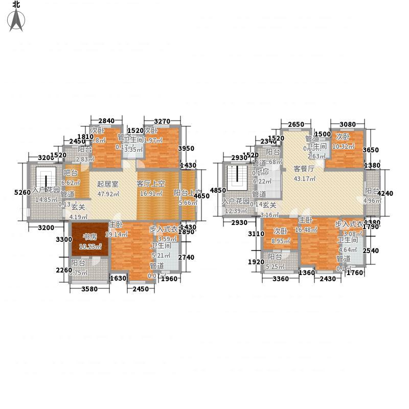 国宝花园372.73㎡D4户型7室3厅4卫1厨