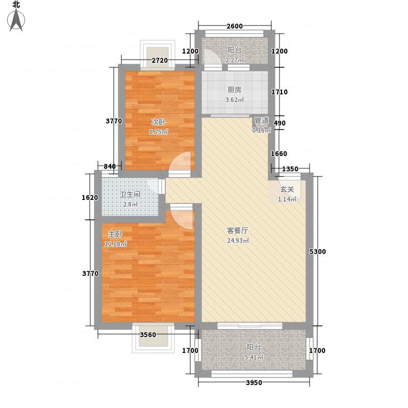 紫金城红郡155.00㎡紫金城红郡3室户型3室