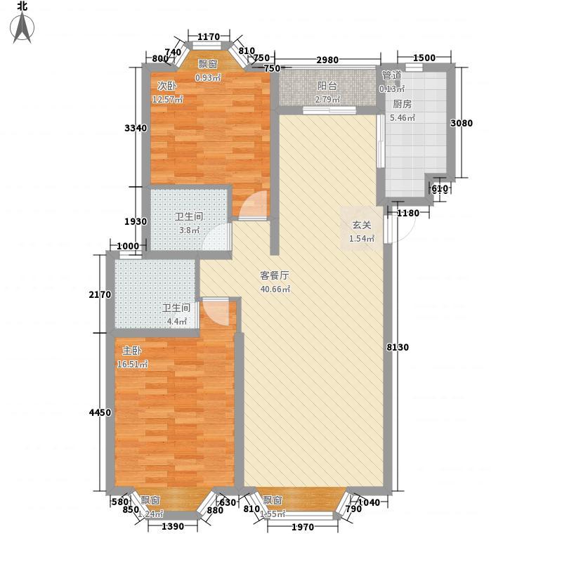 欣欣家园户型2室