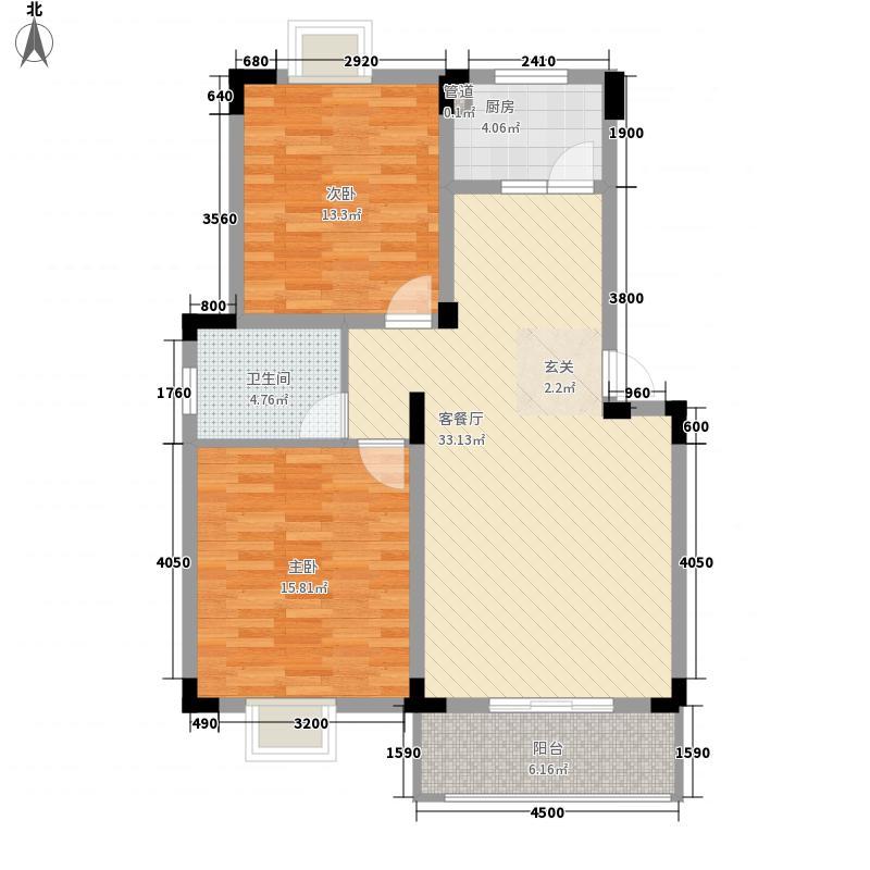 华乐山庄户型2室