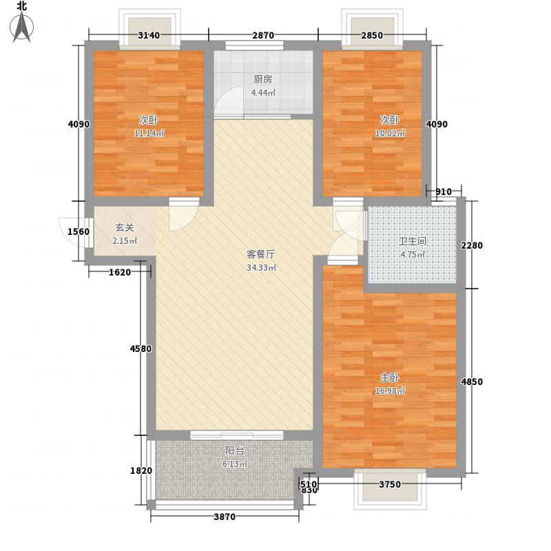 印染厂家属院125.00㎡322125户型3室2厅2卫