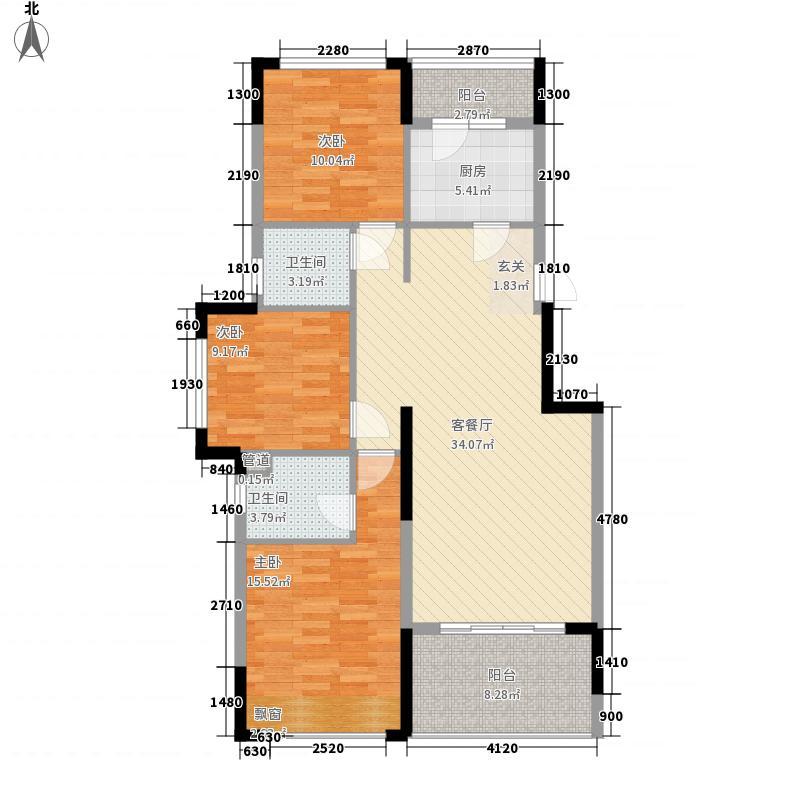 华清园户型3室