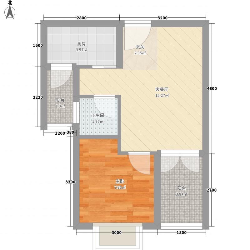 汇邦上东城户型1室