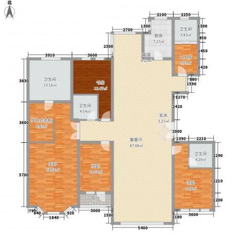 青宾5号院4室1厅4卫1厨261.00㎡户型图