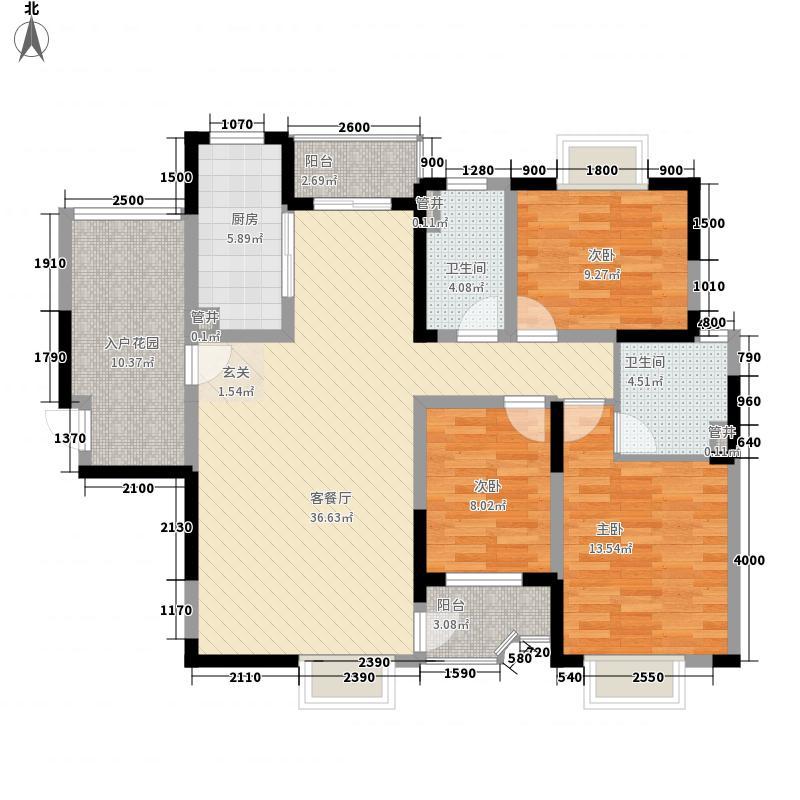防疫站宿舍户型图2-1 3室2厅1卫1厨