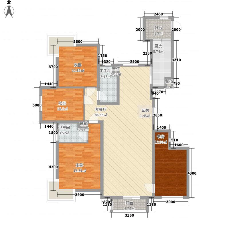永康食品厂宿舍户型4室