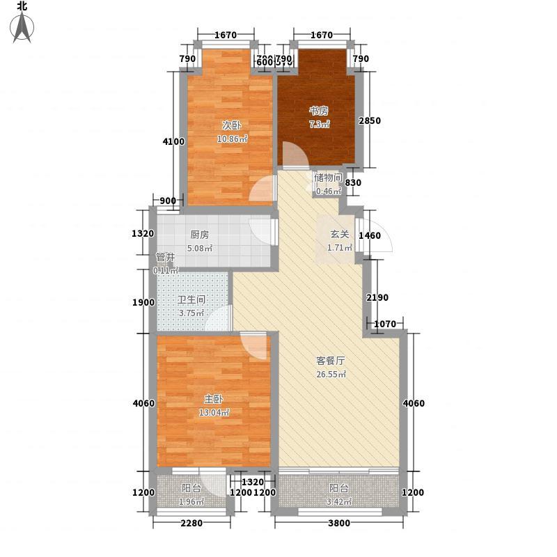 梅苑温泉小区户型3室
