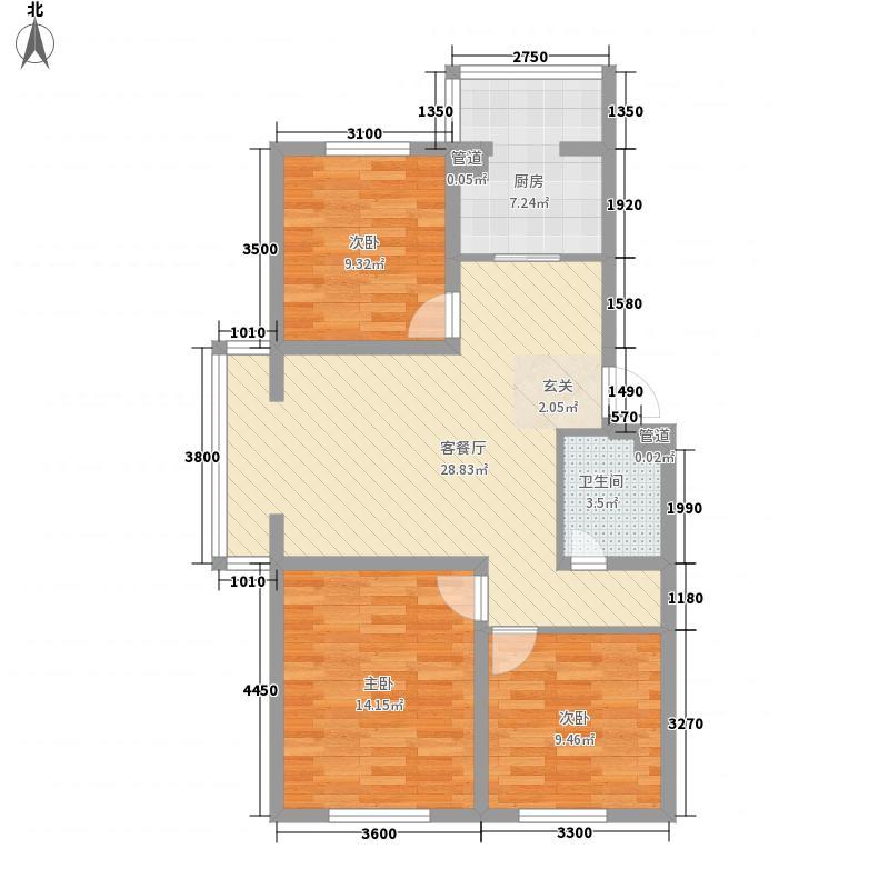 兰州市第一人民医院家属院户型3室