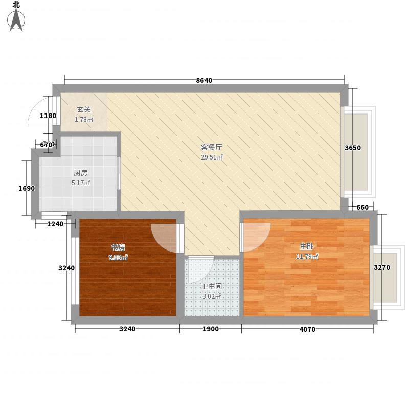 东风机械厂宿舍户型2室
