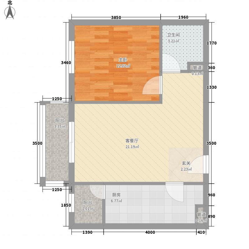 幸福家园3.06㎡12楼0306面积6884m户型