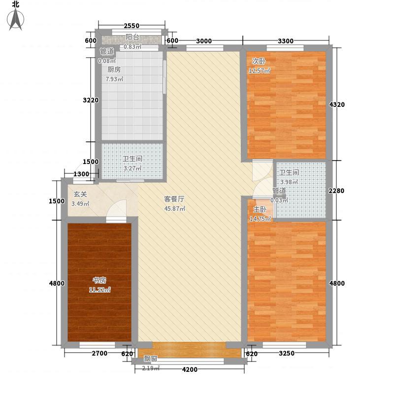 桂林小区1户型2室1厅1卫1厨