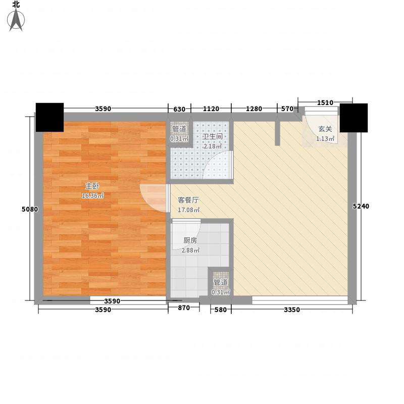 西环中心广场59.85㎡西环中心广场户型图04户型1室1厅1卫1厨户型1室1厅1卫1厨