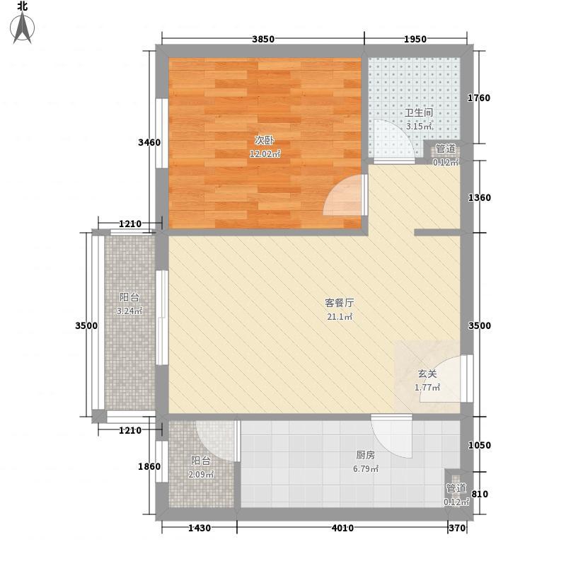 幸福家园3.06㎡12楼0306户型